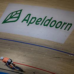 03-03-2018: Wielrennen: WK Baan: Apeldoorn<br />Annemiek van Vleuten plaatst zich met een tweede tijd voor de finale