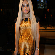 Freemasons Hall, London, England, UK. 15th September 2017. Camilla Destiny singer/songwriter attends Michaela Frankova showcases latest collection at FASHION SCOUT SS18.
