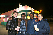 Best friends Braeden Foldenauer, Mayukh Datta, Ryan Hopson and Baili Zhong are reunited over a holiday break. The four went to high school together in Mississippi. Foldenauer is at Harvard, Datta and Hopson, got to school at Mississippi State and Zhong goes to school on the west coast. None of them are facing the complexities that current immigration laws have put on Mayukh Datta. Photo by Karen Pulfer Focht