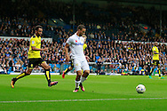 Leeds United's Kemar Roofe (7) during the EFL Sky Bet Championship match between Leeds United and Burton Albion at Elland Road, Leeds, England on 29 October 2016. Photo by Richard Holmes.
