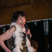 Lynn Ruth Miller *London UK preforms at the London Burlesque Festival - The Crown Jewels at Conway Hall on 19th May 2017, UK. by See Li