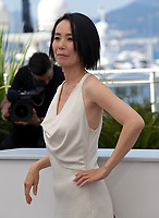 Director Naomi Kawase at the Hikari (Vers La Lumiere / Radiance) photo call at the 70th Cannes Film Festival Tuesday 23rd May 2017, Cannes, France. Photo credit: Doreen Kennedy