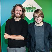 NLD/Amsterdam/20161117 - KPN Presenteert nieuwe programma's, Toon 2, Beer ten Kate. en Joep Vermolen