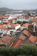 Rooftops of town buildings, Viano do Castelo, Portugal