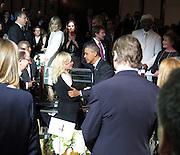 Celebrities at the USC Shoah Foundation's 20th Anniversary Gala at the Hyatt Regency Century Plaza in LA.<br /><br />Pictured: President Barack Obama,<br />Ref: SPL750371  070514  <br />Picture by: Splash News<br /><br />Splash News and Pictures<br />Los Angeles:310-821-2666<br />New York:212-619-2666<br />London:870-934-2666<br />photodesk@splashnews.com