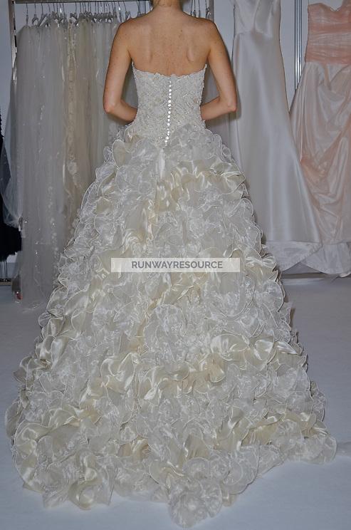 Peter Langer  New York Bridal Spring 2012