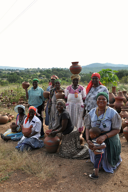 Mashamba Pottery, a talented pottery enterprise in Limpopo, South Africa