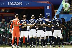 June 16, 2018 - Kazan, Kazan, Russia - France ream line-up before the 2018 FIFA World Cup Russia group C match between France and Australia at Kazan Arena on June 16, 2018 in Kazan, Russia. (Credit Image: © Mehdi Taamallah/NurPhoto via ZUMA Press)
