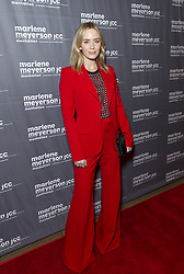 February 5, 2019 - New York, New York, United States - Actress Emily Blunt wearing suit by Elie Saab attends To Dust special screening at Marlene Meyerson JCC Manhattan  (Credit Image: © Lev Radin/Pacific Press via ZUMA Wire)