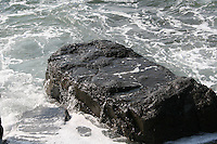 ocean spray on rocks Inis Mor the Aran Islands County Galway