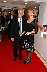 Leading make-up artist BARBARA DALY and her husband LAURENCE TARLO at a party to celebrate the 90th birthday of Vogue magazine held at The Serpentine Gallery, Kensington Gardens, London on 8th November 2006.<br /><br />NON EXCLUSIVE - WORLD RIGHTS