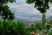 View of the city of Volos, Thessaly, Greece