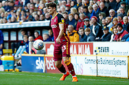 Bradford City defender Connor Wood (23) in action  during the EFL Sky Bet League 1 match between Bradford City and Sunderland at the Northern Commercials Stadium, Bradford, England on 6 October 2018.