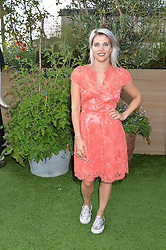 PIPS TAYLOR at a vintage fashion pop-up evening hosted by Dawn O'Porter at The Gardening Society, John Lewis, Oxford Street on 27th July 2016.