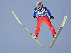 20.03.2010, Planica, Kranjska Gora, SLO, FIS SKI Flying World Championships 2010, Flying Hill Individual 3rd Round, im Bild Martin Koch, ( AUT, #22 ), EXPA Pictures © 2010, PhotoCredit: EXPA/ J. Groder / SPORTIDA PHOTO AGENCY