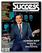 Portrait of financial advisor Howard Ruff for Success magazine cover (Photo by Douglas Page)