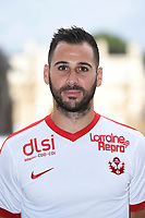 Antony ROBIC during photoshooting of As Nancy Lorraine for new season 2017/2018 on September 12, 2017 in Nancy, France. (Photo by Fred Marvaux/Icon Sport)