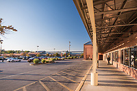 Exterior image of Mount Clare Junction Retail Center in Baltimore MD by Jeffrey Sauers of Commercial Photographics, Architectural Photo Artistry in Washington DC, Virginia to Florida and PA to New England