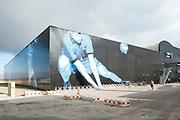 Hare Majesteit Koningin Maxima opent het beroepenfeest van Almere On Stage voor VMBO leerlingen in het Topsportcentrum in Almere-Poort. <br /> <br /> Her Majesty Queen Maxima opens the profession feast of Almere On Stage for secondary pupils in Topsportcentrum in Almere Poort.<br /> <br /> Op de foto / On the photo: Topsportcentrum in Almere-Poort