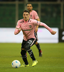 March 10, 2018 - Palermo, Sicily, Italy - GABRIELE ROLANDO of Palermo during the serie B match between US Citta di Palermo and Frosinone at Stadio Renzo Barbera on March 10, 2018 in Palermo, Italy. (Credit Image: © Gabriele Maricchiolo/NurPhoto via ZUMA Press)