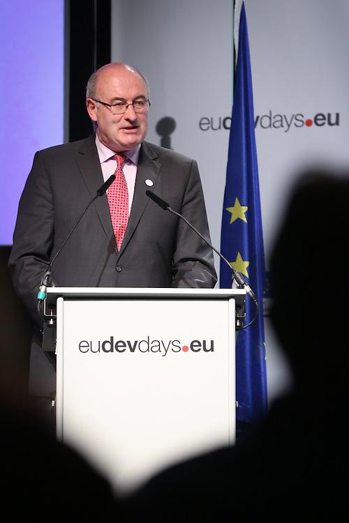 03 June 2015 - Belgium - Brussels - European Development Days - EDD - Food - Feeding the planet together - Phil Hogan<br /> EU Commissioner for Agriculture and Rural Development © European Union