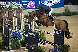 Delaveau Patrice, (FRA), Orient Express<br /> Longines FEI World Cup™ Jumping Final I<br /> Las Vegas 2015<br />  © Hippo Foto - Dirk Caremans<br /> 17/04/15
