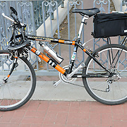 My Official Bike-tography Bike awaiting its next deployment during 2012 El Tour de Tucson. Bike-tography by Martha Retallick.