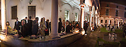 BRETT EASTON ELLIS ( LEFT) , Italian Vanity Fair's 10 Anniversary celebration  hosted by Luca Dini. . Fondazione Cini, Isola di San Giorgio. Venezia.  1 September 2013