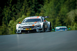 21.05.2016, Red Bull Ring, Spielberg, AUT, DTM, Red Bull Ring Spielberg, Training, im Bild Robert Wickens (CAN / SILBERPFEIL Energy/UBFS invest Mercedes-AMG) vor Edoardo Mortara (ITA / Audi Sport Team Abt Sportsline) // during the free practice of the DTM at the Red Bull Ring, Spielberg, Austria on 2016/05/21, EXPA Pictures © 2016, PhotoCredit: EXPA/ Erwin Scheriau