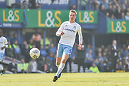 Coventry City Defender, Tom Davies (5) during the EFL Sky Bet League 1 match between Portsmouth and Coventry City at Fratton Park, Portsmouth, England on 22 April 2019.