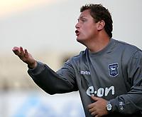 Photo: Maarten Straetemans.<br /> Royal Antwerp v Ipswich Town. Pre Season Friendly. 31/07/2007.<br /> Manager Jim Magilton