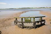 Drainage sluice, River Deben, Sutton, Suffolk, England