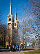 St. Aloysius Church (Spokane) is a Jesuit parish located in Spokane, Washington that was founded in 1890. It is located in the Oregon Province of the Society of Jesus.