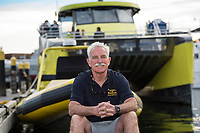Prince of Whales, a whale-watching tour company, launches the new Salish Sea Dream catamaran in Victoria, BC.