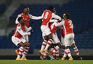 Brighton U21 v Arsenal U21 011214