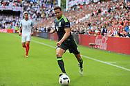 Hal Robson-Kanu of Wales in action. UEFA Euro 2016, group B , England v Wales at Stade Bollaert -Delelis  in Lens, France on Thursday 16th June 2016, pic by  Andrew Orchard, Andrew Orchard sports photography.