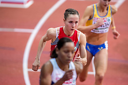 04-02-2017  SRB: European Athletics Championships indoor day 2, Belgrade<br /> Selina Buchel SUI  op de 800 m