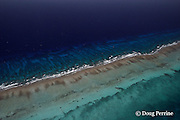 southern Belize Barrier Reef, off Placencia, Belize, Central America  ( Caribbean ), showing spur and groove coral formations