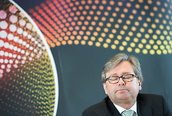 16.02.2015, TUtheSky, Wien, AUT, Pressekonferenz des Lebensmiisteriums und ORF mit dem Titel: Eurovision Song Contest erstmals als Green Event, im Bild ORF Generaldirketor Alexander Wrabetz // director general of the Austrian Broadcasting Corporation (ORF) Alexander Wrabetz during press conference of the Austrian Broadcasting Corporation and Ministry of Agriculture, Forestry, Environment and Water Management according to Eurovision Song Contest fist time as a Green Event at TUtheSky in Vienna, Austria on 2015/02/16, EXPA Pictures © 2015, PhotoCredit: EXPA/ Michael Gruber