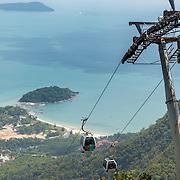 Sky Bridge cable car, Langkawi island, Malaysia