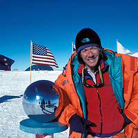 Gordon Wiltsie at the South Pole.