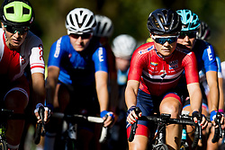 September 23, 2017 - Bergen, NORWAY - 170923 Emilie Moberg of Norway competes during the Women Elite Road Race on September 23, 2017 in Bergen..Photo: Vegard Wivestad GrÂ¿tt / BILDBYRN / kod VG / 170026 (Credit Image: © Vegard Wivestad Gr¯Tt/Bildbyran via ZUMA Wire)