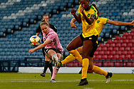 Kim LITTLE (Arsenal WFC (ENG)) gets a shot blocked during the International Friendly match between Scotland Women and Jamaica Women at Hampden Park, Glasgow, United Kingdom on 28 May 2019.