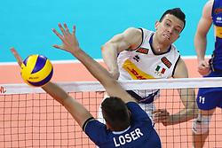 DANIELE MAZZONE (ITALIA)<br /> ITALIA - ARGENTINA<br /> PALLAVOLO VNL VOLLEYBALL NATIONS LEAGUE 2019<br /> MILANO 22-06-2019<br /> FOTO GALBIATI -  RUBIN