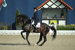 Brune Bernadette, (GER), Spirit Of The Age Old<br /> Qualification Grand Prix Special<br /> Horses & Dreams meets Denmark - Hagen 2016<br /> © Hippo Foto - Stefan Lafrentz