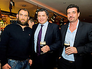 Barry Gavin and Paul Fitzgerald  Clarinbridge with Connacht Captain John Muldoon at the Guinness Area22 event in the Carlton Hotel Galway