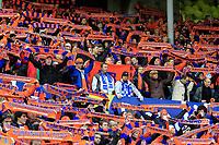 Fotball <br /> Cupfinale menn<br /> 08.11.2009 <br /> Molde fk v Aalesund fk  2-2 (eeo 6-7)<br /> ullevål Stadion<br /> <br /> to molde supportere midt inne blandt Aalesunds supportere<br /> <br /> Foto:Richard brevik Digitalsport