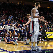 Mar 12 2019  Las Vegas, NV, U.S.A. St. Mary's center Jordan Hunter (1) shoot an off balance shot and scored during the NCAA  West Coast Conference Men's Basketball Tournament championship between the Gonzaga Bulldogs and the Saint Mary's Gaels 60-47 win at Orleans Arena Las Vegas, NV.  Thurman James / CSM