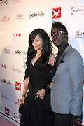 l to r: Portia White and Saul Williams at the Celebrity Catwalk co-sponsored by Alize held at The Highlands Club on August 28, 2008 in Los Angeles, California..Celebrity Catwork for Charity, a fashion show/lifestyle event, raises funds & awareness for National Animal Rescue.