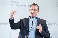 28 JUN 2019, BERLIN/GERMANY:<br /> Richard Grenell, Botschafter der Vereinigten Staaten von Amerika, USA, haelt eine Rede, Tag des Deutschen Familienunternehmens, Hotel Adlon<br /> IMAGE: 20190628-01-240<br /> KEYWORDS: Ambassador